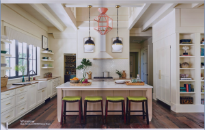kitchen-cabinets-in-lawrenceville-ga-cream-kitchen-blush-island-lime-seat cushions
